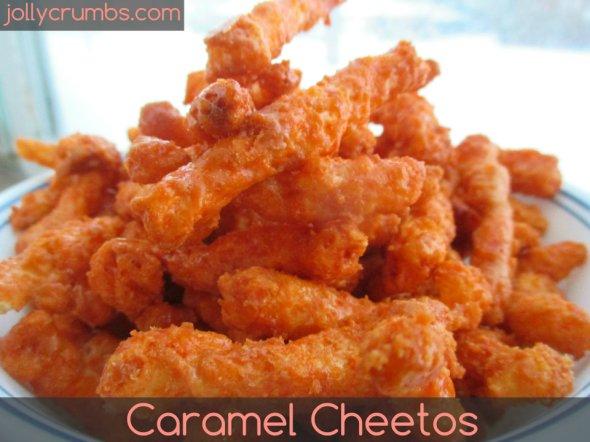 Caramel Cheetos | jollycrumbs.com
