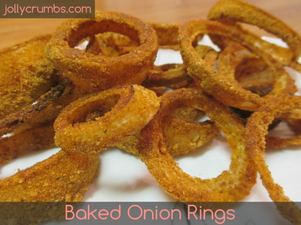 Baked Onion Rings | jollycrumbs.com