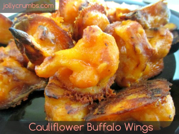 Cauliflower Buffalo Wings | jollycrumbs.com
