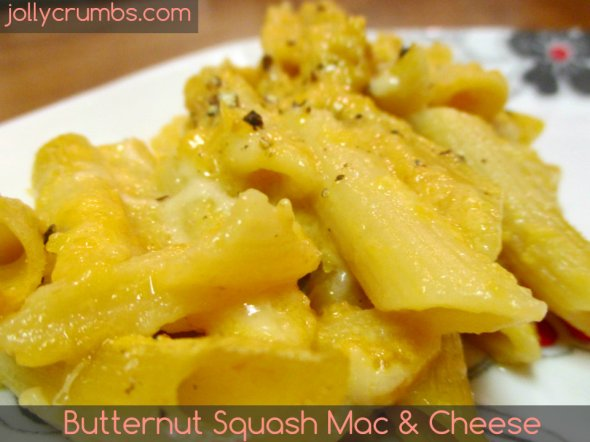 Butternut Squash Mac & Cheese | jollycrumbs.com