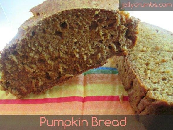 Pumpkin Bread | jollycrumbs.com