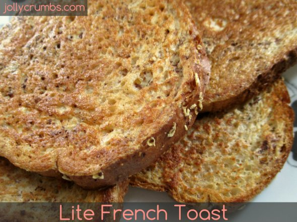 Lite French Toast | jollycrumbs.com
