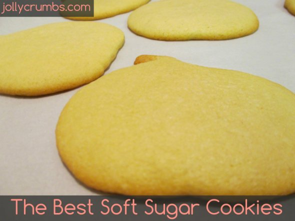 The Best Soft Sugar Cookies | jollycrumbs.com