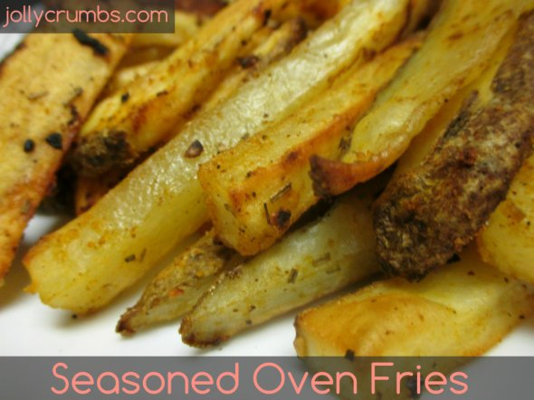 Seasoned Oven Fries | jollycrumbs.com