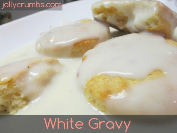 White Gravy | jollycrumbs.com
