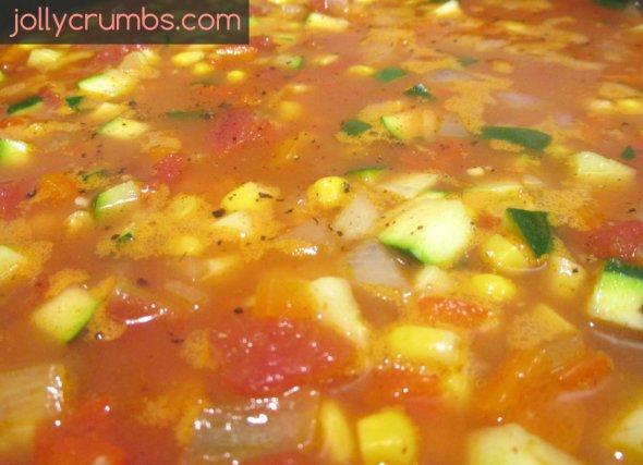 Mexican Rice Casserole | jollycrumbs.com