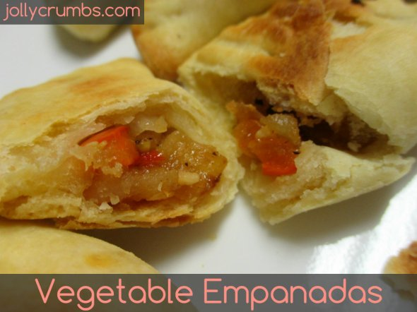 Vegetable Empanadas | jollycrumbs.com