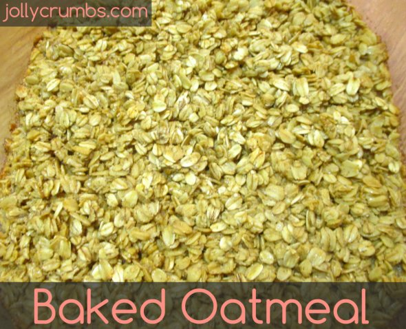 Baked Oatmeal | jollycrumbs.com