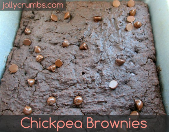 Chickpea Brownies | jollycrumbs.com