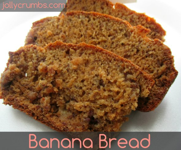 Banana Bread | jollycrumbs.com
