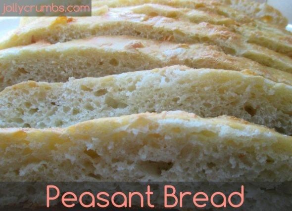 Peasant Bread (No Knead)   jollycrumbs.com
