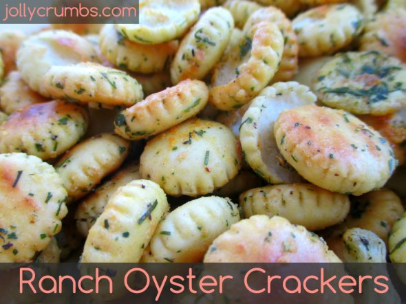 Ranch Oyster Crackers | jollycrumbs.com
