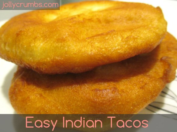 Easy Indian Tacos | jollycrumbs.com