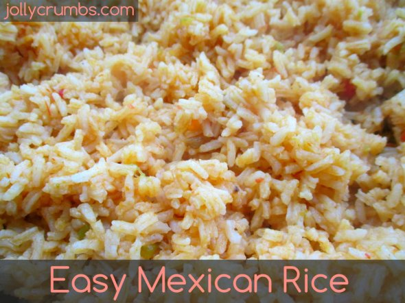 Easy Mexican Rice | jollycrumbs.com