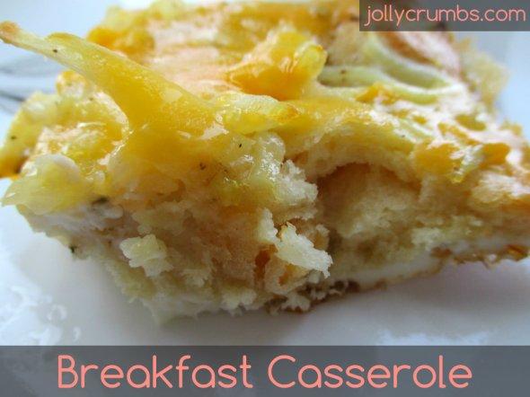 Breakfast Casserole | jollycrumbs.com