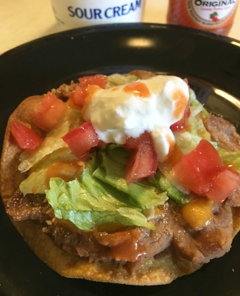 Crispy tostadas at jollycrumbs.com